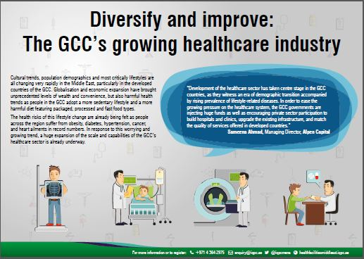 Infographic - Diversify and improve: The GCC's growing healthcare industry