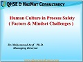 Human culture in process safety