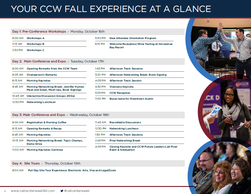 Quick View: Event Agenda