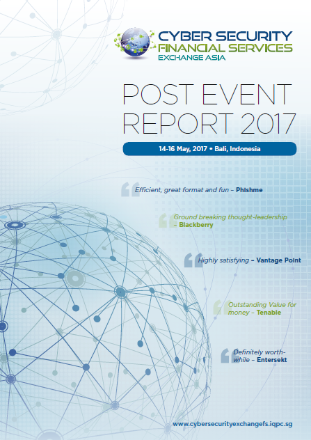 Cyber Security Financial Services Exchange 2017 Post Show Report