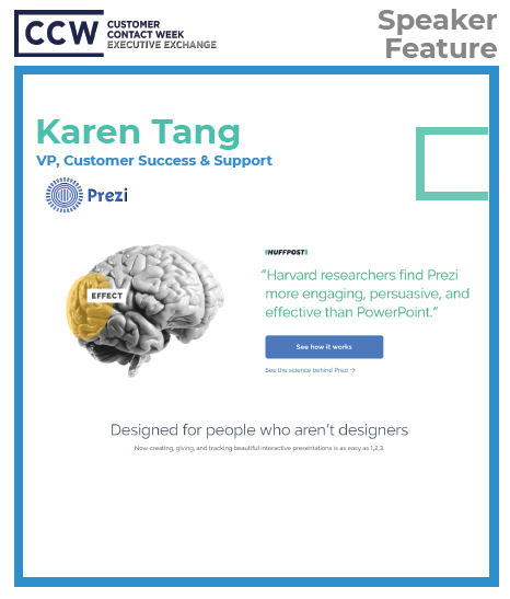 Karen Tang, VP, Customer Success & Support, Prezi