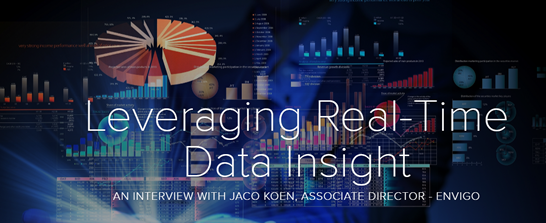 Leveraging Real-Time Data Insight An Interview with Jaco Koen, Associate Director – Envigo