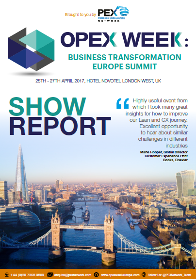 OPEX Week:Business Transformation Europe Summit 2017 Show Report