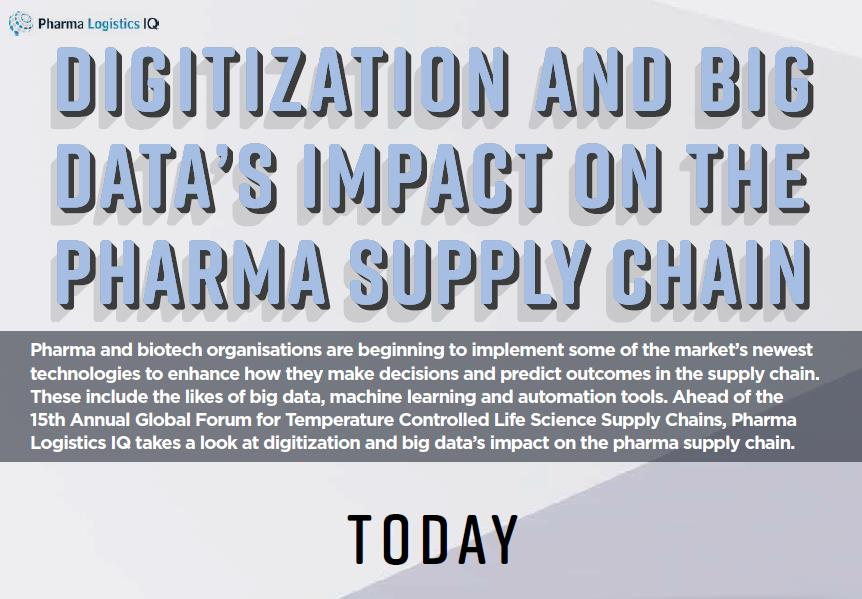 Digitization and Big Data's Impact on the Pharma Supply Chain
