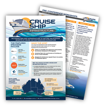 View Final Program - Cruise Ship Infrastructure 2018