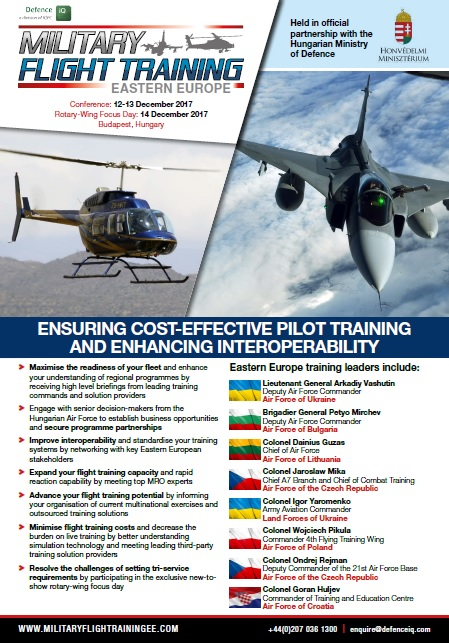 Military Flight Training Eastern Europe 2017 Programme