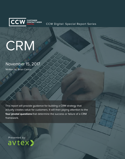 CCW Digital Special Report - CRM