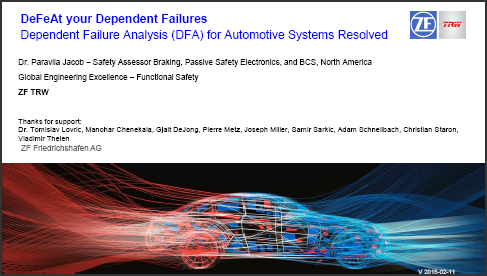 DeFeAt your dependent failures - dependent failure analysis (DFA) for automotive systems resolved