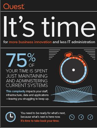 It's time for more business innovation and less IT administration