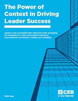The Power of Context in Driving Leader Success