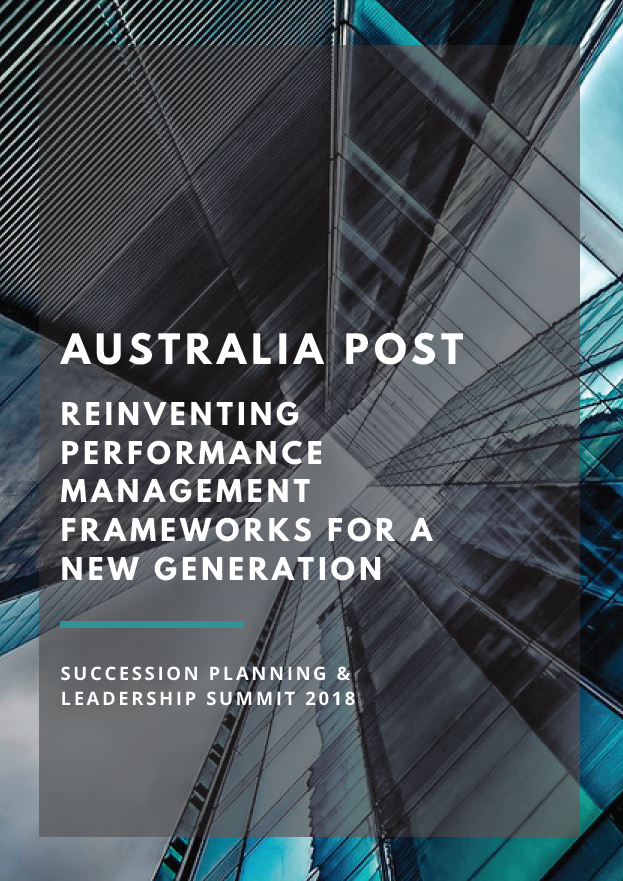 Australia Post: Reinventing Performance Management Frameworks for a New Generation