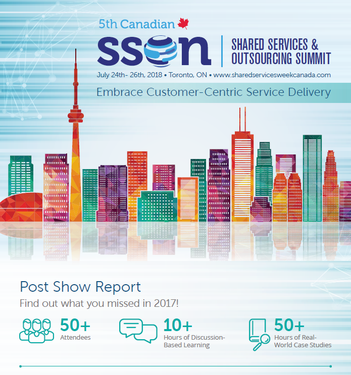 Post Show Report: Shared Services & Outsourcing Summit Canada 2017