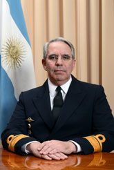 Contralmirante David Burden