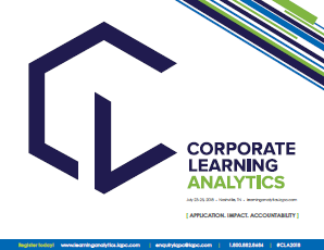 5th Corporate Learning Analytics Preliminary Agenda