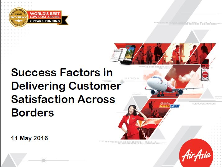 Success Factors in Delivering Customer Satisfaction Across Borders