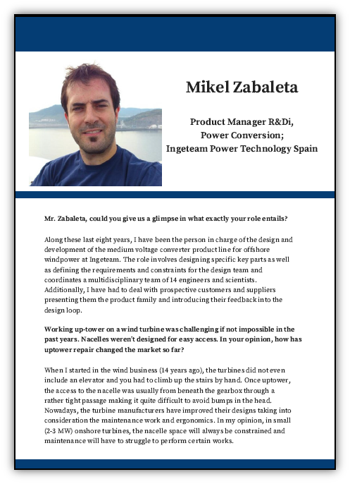 Q&A with Ingeteam's Mikel Zabaleta