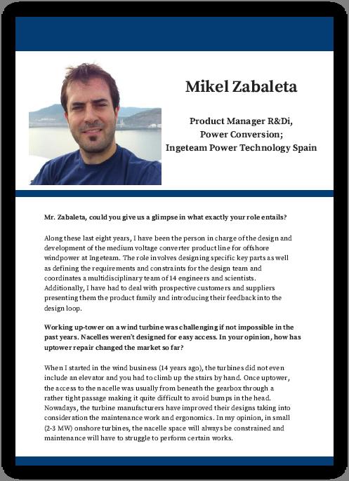 Q&A with Ingeteam's Mikel Zabaleta