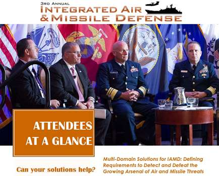 Integrated Air and Missile Defense Attendee Snapshot