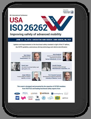 ISO 26262 USA Agenda 2018