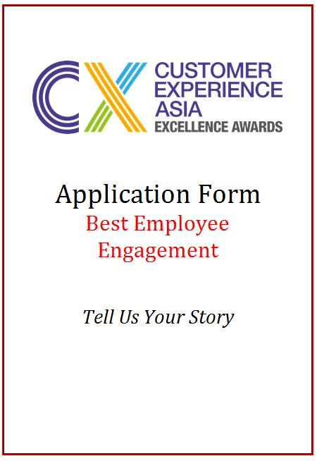 CEM Award Application Form - Best Employee Engagement
