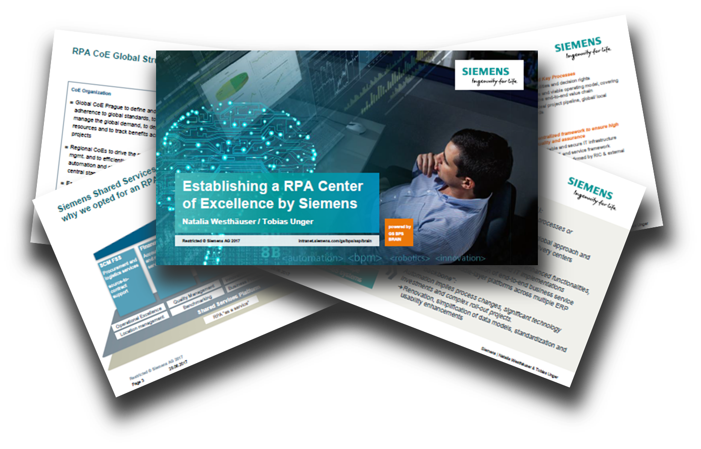 Establishing a RPA CoE by Siemens