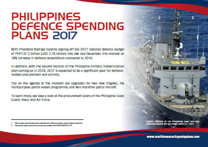Philippines Defence Spending Plans 2017