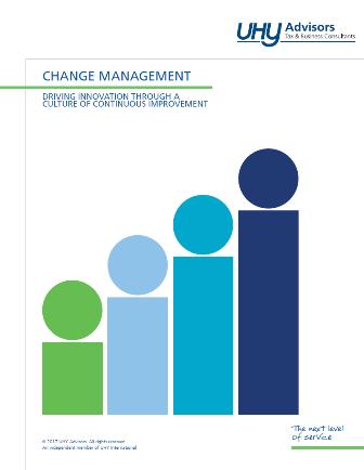 CHANGE MANAGEMENT - UHY Advisors