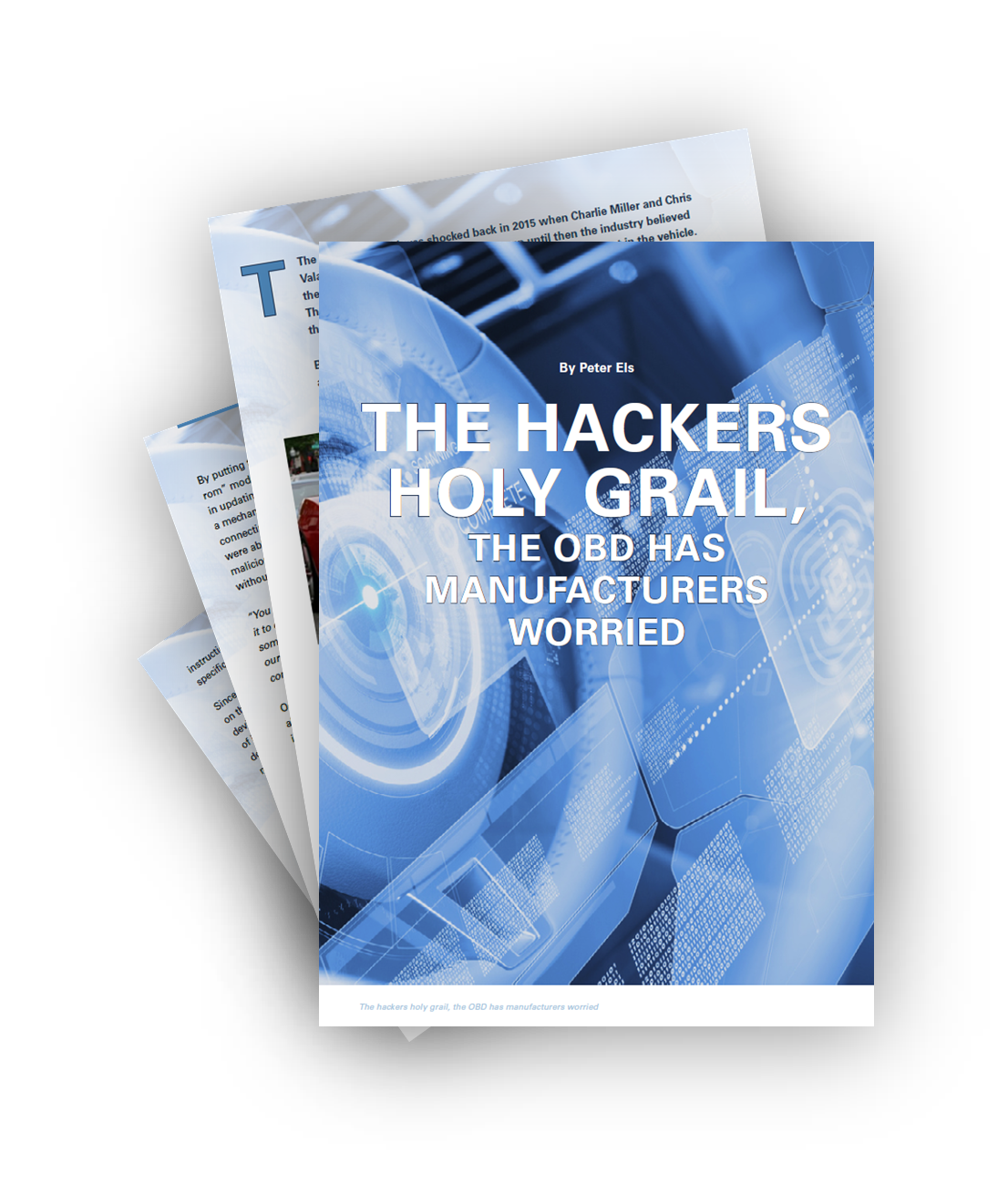 The Hackers Holy Grail - The OBD Has Manufacturers Worried