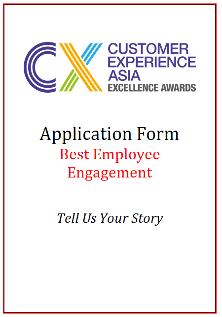 CEM Award Application Form - Best Employee Engagement