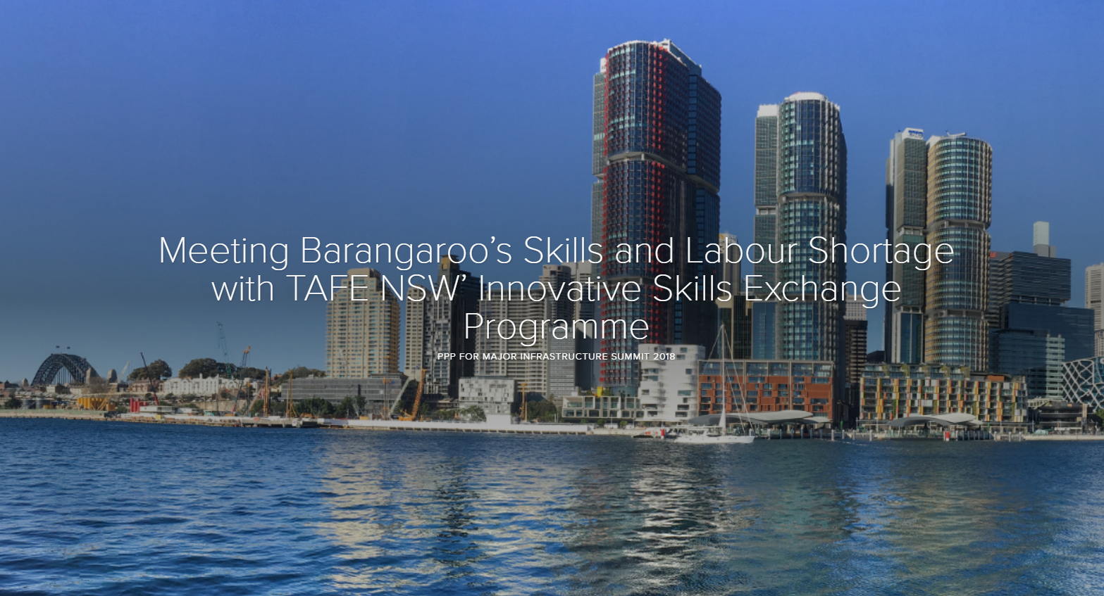 Meeting Barangaroo's Skills and Labour Shortage with TAFE NSW' Skills Exchange Programme (PDF)