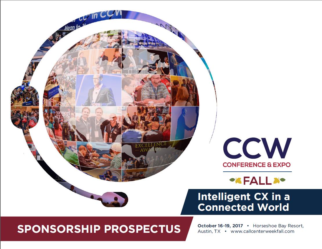 CCW Fall Sponsorship Prospectus