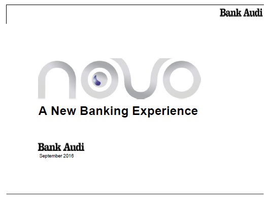 A new banking experience