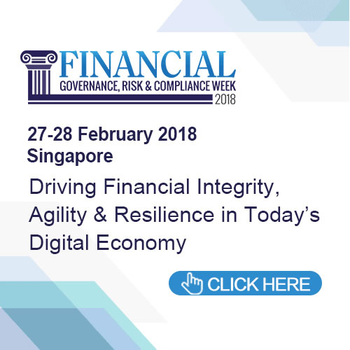 Financial Governance, Risk & Compliance Week Asia 2018 Agenda