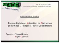 Facade Lighting: Attraction or Distraction - by Tanas Khoury