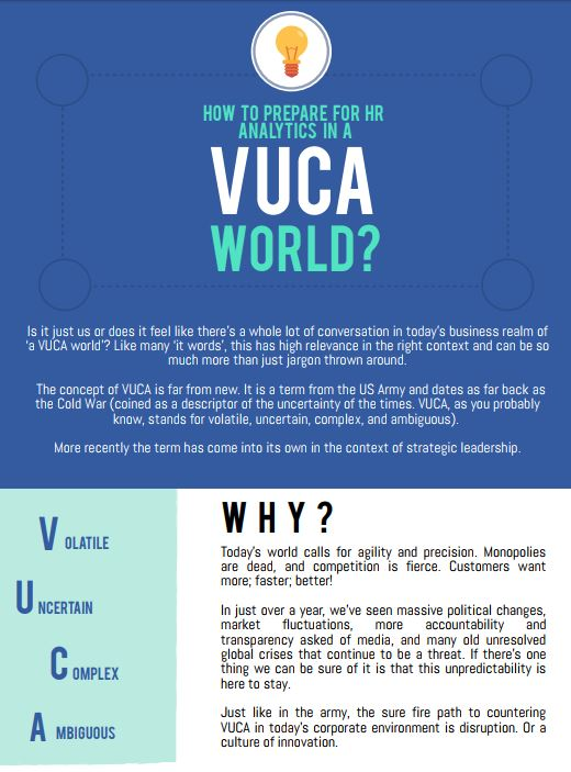How To Prepare for HR Analytics in a VUCA World