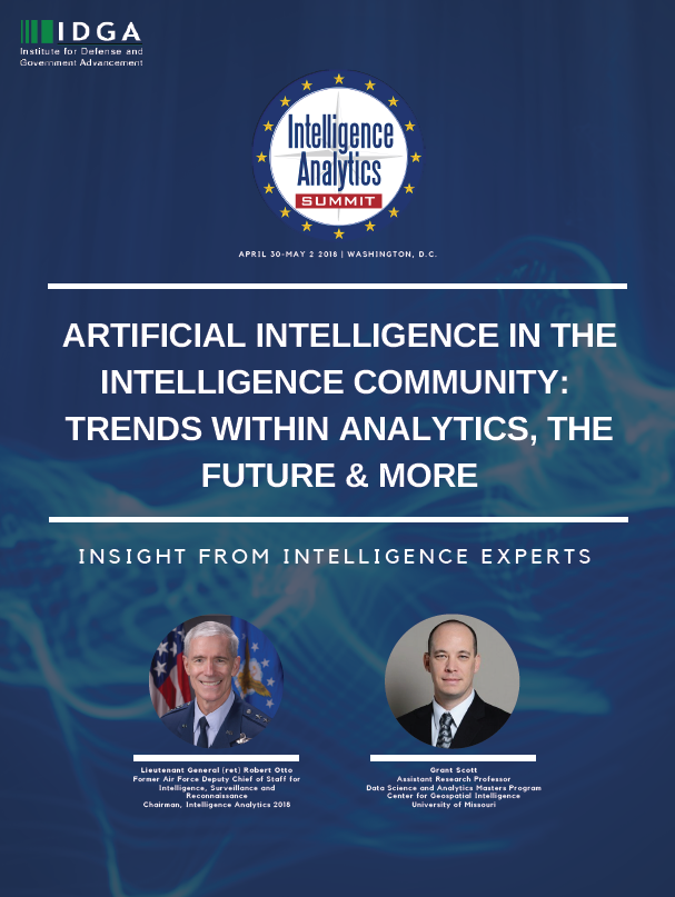 Artificial Intelligence in the Intelligence Community: Trends Within Analytics & Machine Learning