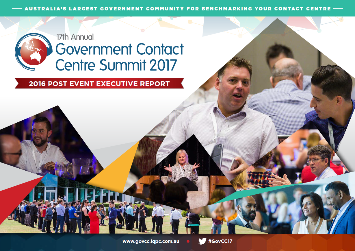 Government Contact Centre Summit 2017 Post Show Report