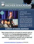 CURRENT ATTENDEE SNAPSHOT - Shared Services in Higher Education Summit