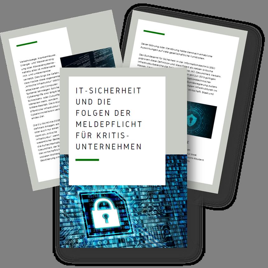 IT-Sicherheit und die Folgen der Meldepflicht