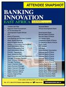 Attendee Snapshot: Banking Innovation East Africa