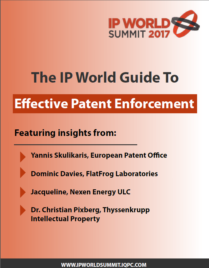 The IP World Guide to Effective Patent Enforcement
