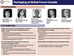 Packaging at Global Forum Canada