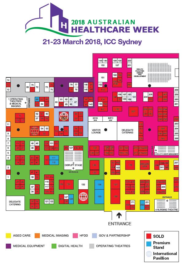 Australian Healthcare Week - Floorplan