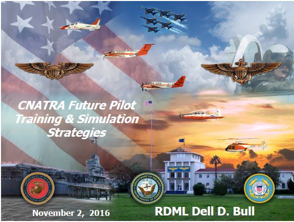 Exploring the US Navy's Future Pilot Training and Simulation Strategies