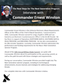 The Next Steps for the Next Generation Program: Interview with Commander Ernest Winston
