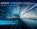 Automotive Talent Acquisition Management (ATAM18) Brochure