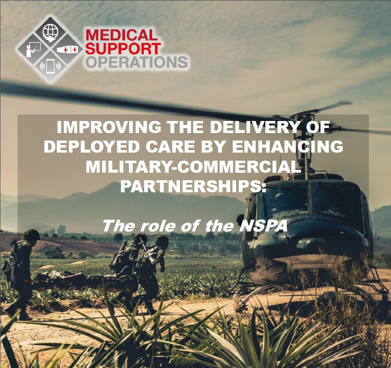 Improving the delivery of deployed care by enhancing military-commercial partnerships: The role of the NSPA