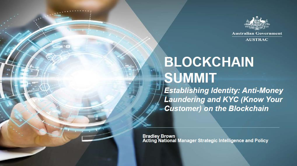 Anti-Money Laundering and KYC (Know Your Customer) on the Blockchain