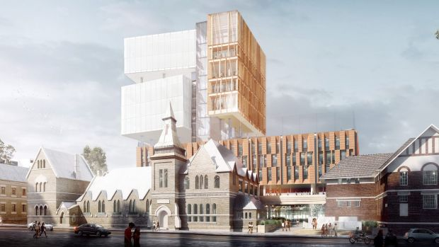 New inner Sydney high-rise school for 1200 students revealed