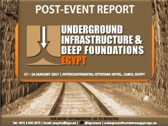 Post-Event Report: Underground Infrastructure and Deep Foundations Egypt 2017